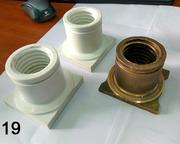 Ходовая и опорная  гайка автоподъемника из износостойкого полимера