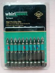 Биты для шуруповерта Whirlpower от 30 гр упаковка