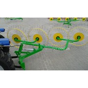 Грабли-ворошилка «Солнышко» 4-х колесные (Польша)