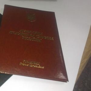 Изготовим папки виниловые,  кожзам,  удостоверения,  тиснение лого