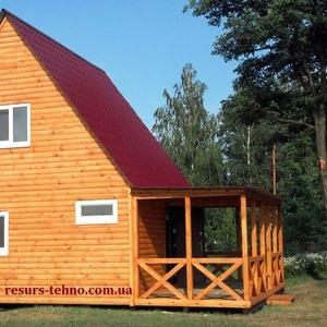 Дачные домики.Бытовки из дерева.