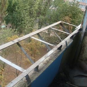 Балконы с выносом Киев,  Изготовление выносных балконов Киев