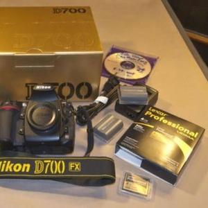 Nikon D700 Digital SLR Camera with Nikon AF-S VR 24-120mm at $1000USD