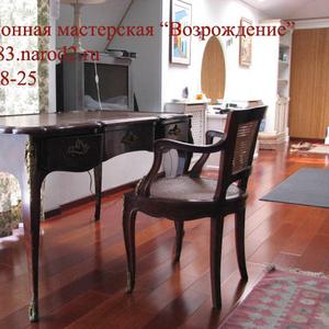 Реставрация мебели,  ремонт часов