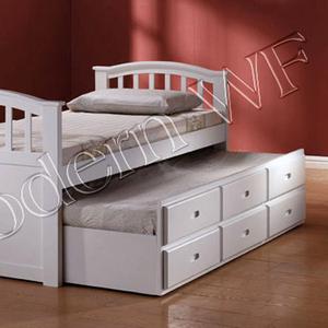 Подрастковая кровать Лилу из натурального дерева