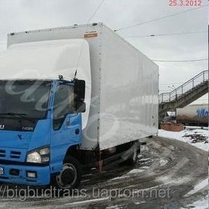 Услуги грузоперевозки фургоном 5 тонн