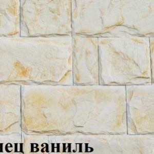 Декоративный,  искусственный облицовочный  камень. 19 декоров плиток.