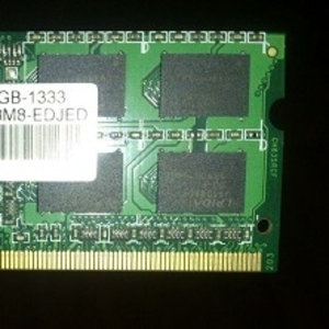 Оперативная память DDRIII 2GB от ноутбука  Acer Aspire 5334