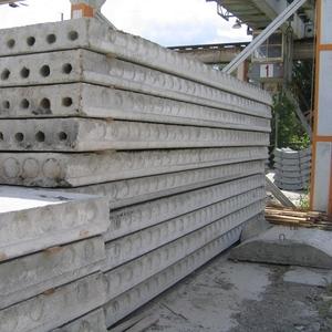 Плиты ЖБИ,  фундаментные блоки, фундамент ленточный, перемычки, сваи