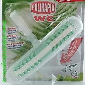 Блок для унитаза с ароматом лимона Pulirapid Lime