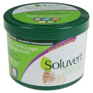 Универсальная экологическая чистящая паста Soluvert (375 гр.+губка)