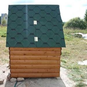 Декоративный колодец,  домик для колодца