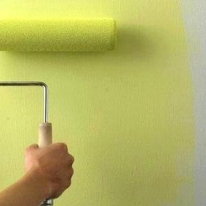 Покраска стен,  потолка
