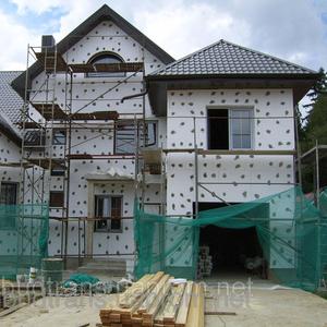 Отделка фасадов,  ремонт фасада