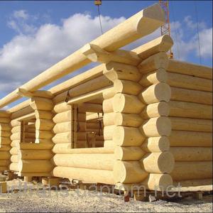 Услуга строительство деревянных домов со сруба