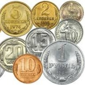 Куплю монеты медные,  боны,  монеты СССР России.