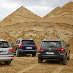 Audi Q7,  Q5,  Volkswagen Touareg,  Porsche Cayenne запчасть б.у с Европы