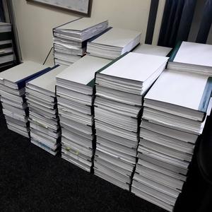 Прошивка документів,  палітурка документів