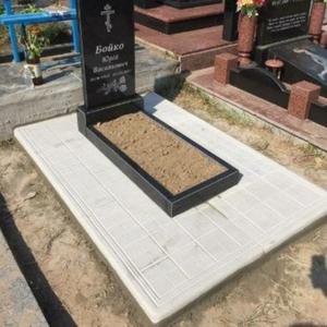 Монтаж гранітного пам'ятника