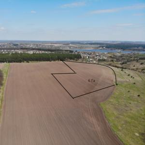 Продам земельну ділянку у селі Хлепча - загальна площа 6.18 Га. Ліс