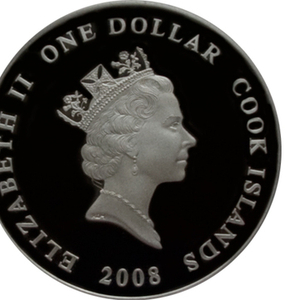 Юбилейная серебряная 999, 9 пробы монета 2008 года,  тираж:3500 шт.
