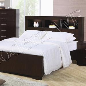 Двухспальная кровать Монако из натурального дерева