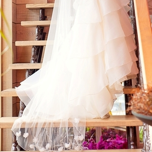 Эффектное свадебное платье Mori Lee (оригинал)