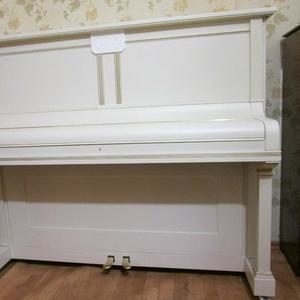 Фортепиано Gustav Fiedler белое