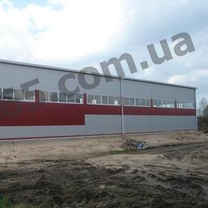 Строительство ангаров,  складов утепленного и холодного типа в Украине