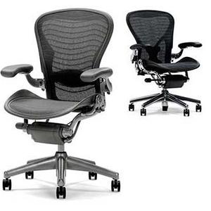 Кресло для руководителя Aeron от Herman Miller 12 лет гарантии