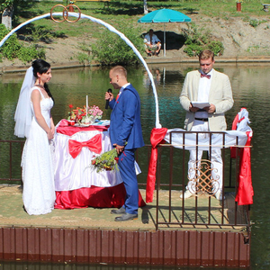 Свадьбы на за городом