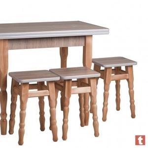 Стол Кухонный Раскладной + 4 Табурета Эко Акция
