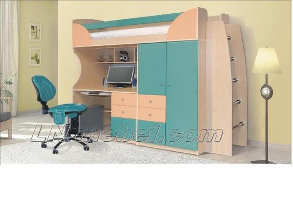 Детская мебель в ассортименте,  двухъярусные кровати                     2