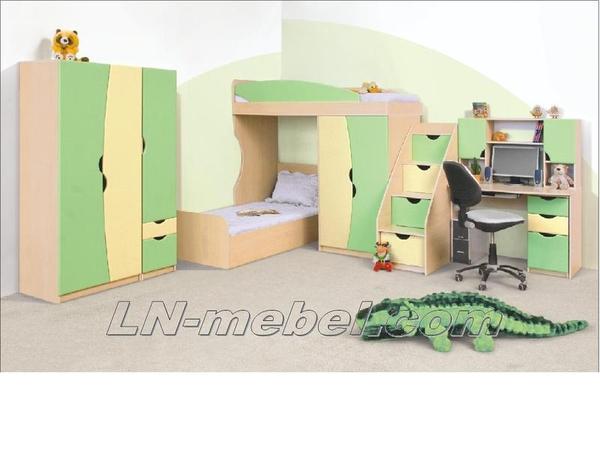 Детская мебель в ассортименте,  двухъярусные кровати                     3