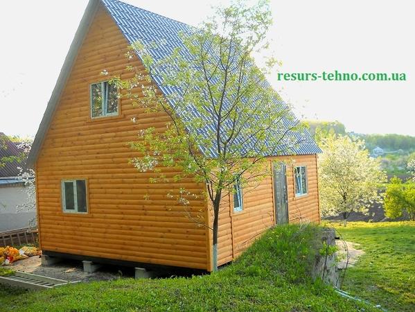Дачные домики.Бытовки из дерева. 5