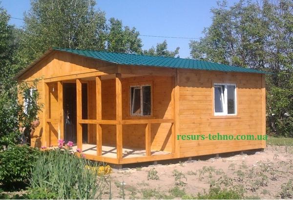 Дачные домики недорого 3