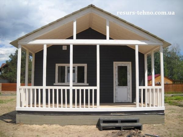 Домики дачные деревянные, бытовки дачные, строительные. 3