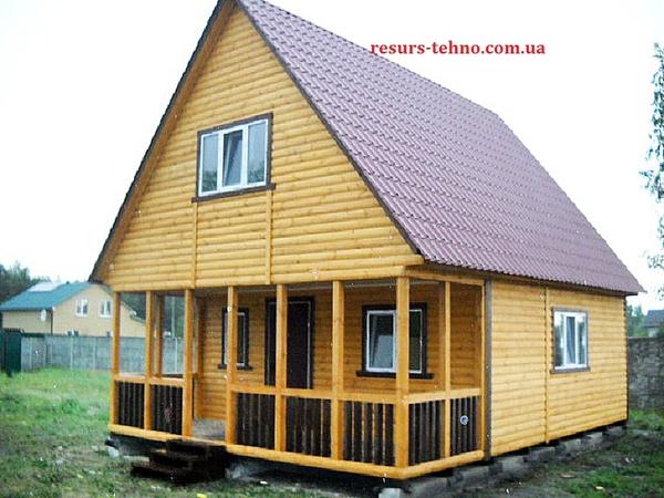 Дачные домики недорого,  быстрой сборки на заказ. 3