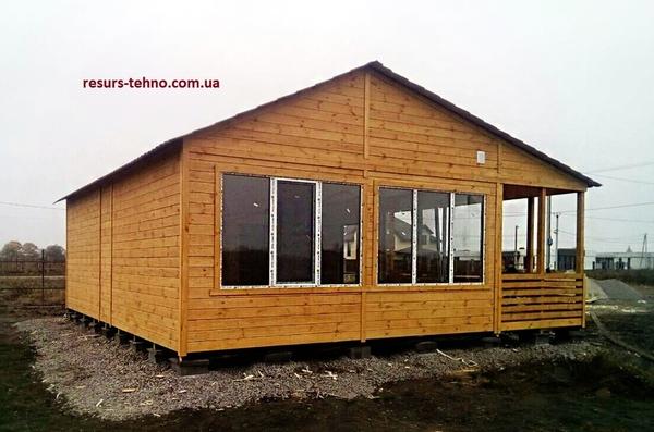 Дачные домики недорогие строим в любое время года. 2