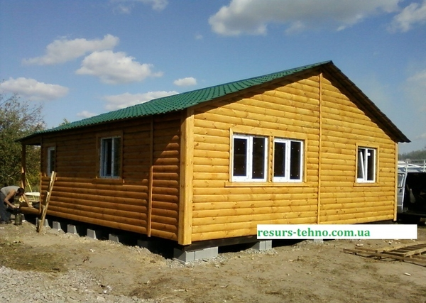 Дачные домики недорогие строим в любое время года. 5