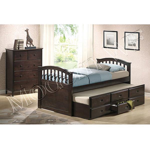 Подрастковая кровать Лилу из натурального дерева 3