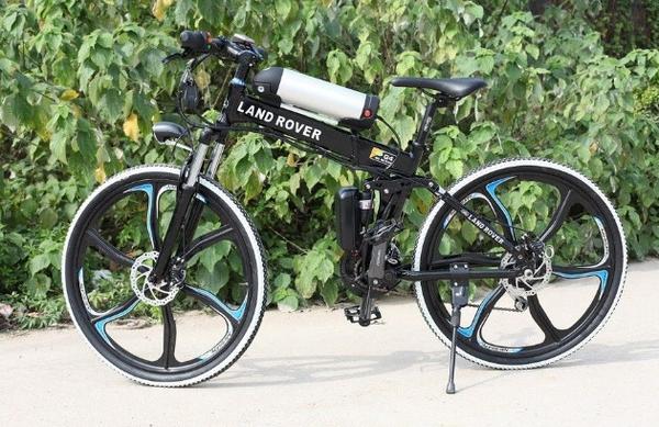 Электрический велосипед Land Rover Electric Rear