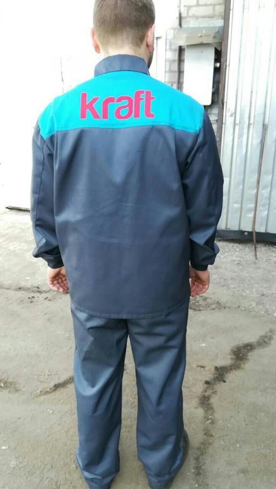Нанесение логотипа на рабочую одежду 2