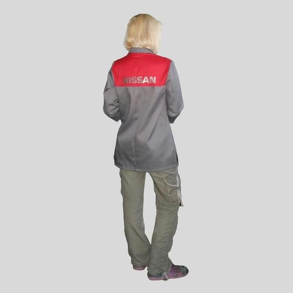 Нанесение логотипа на рабочую одежду 3