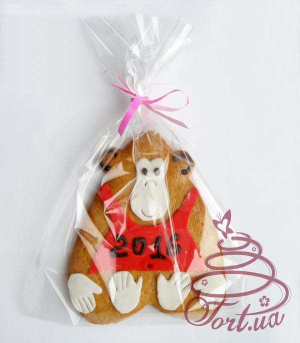 Пряник новогодний медовый   «Год Обезьянки»