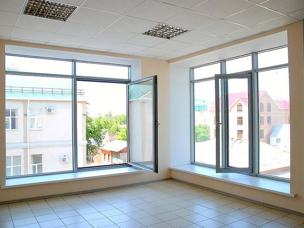 Алюминиевые окна,  двери,  перегородки. Стильные и современные. 4