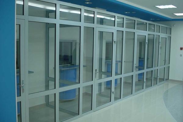 Алюминиевые окна,  двери,  перегородки. Стильные и современные. 8