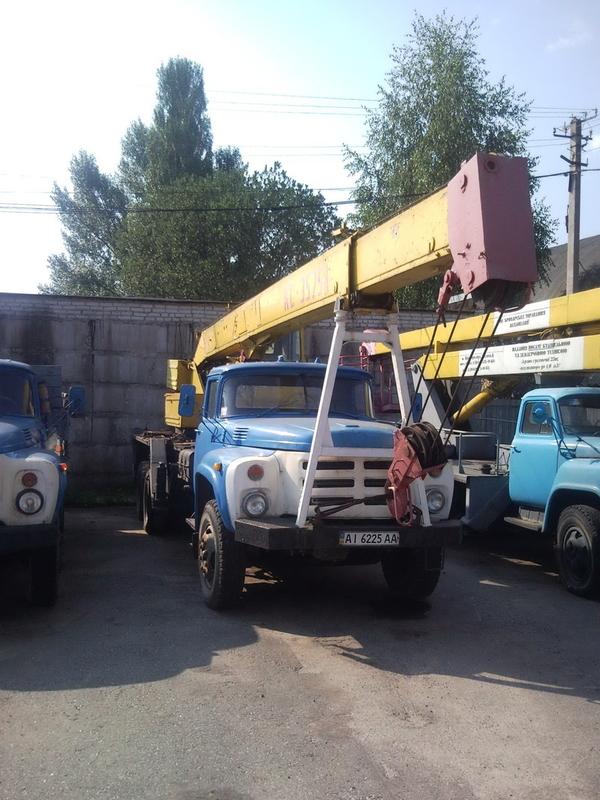Аренда автокранов Бровары по району Киевская обл.