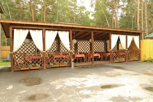 Деревянная веранда /летняя площадка под кафе 4