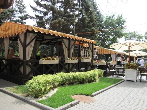 Деревянная веранда /летняя площадка под кафе 5